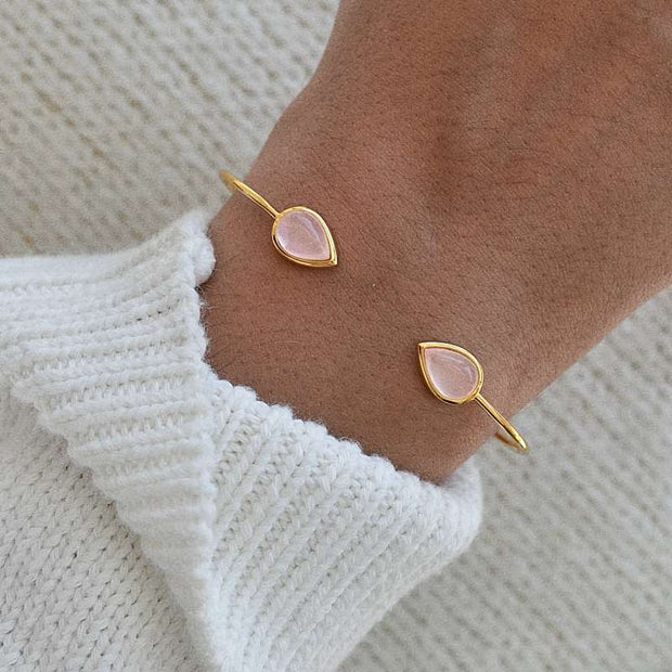 Bangle Lea Goutte - Plaqué Or 18K - Bijoux Majolie