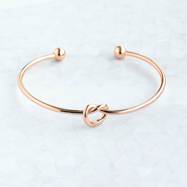 Bracelet Mini Bretzel - Or Rose