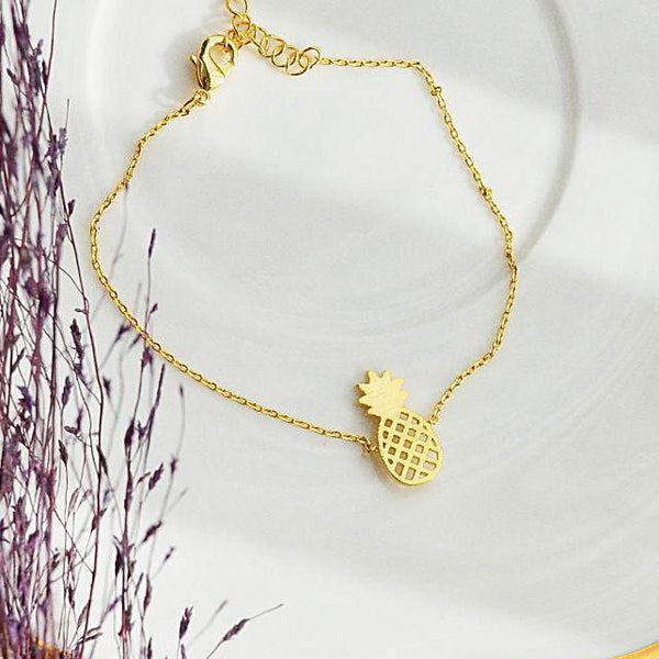 Bracelet Pineapple - Or