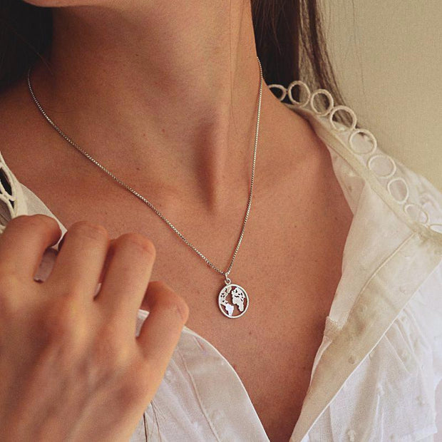 Collier Atlas - Argent