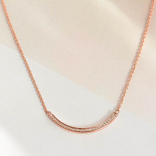 Collier Clara - Plaqué Or Rose 18K