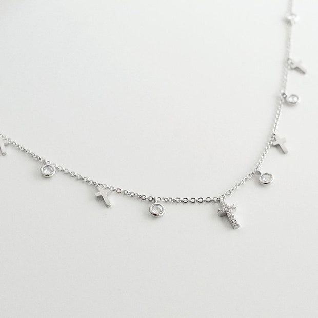 Collier Layla - Argent - Majolie