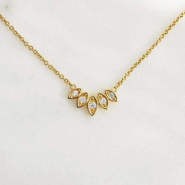 Collier Louana - Plaqué Or 18K