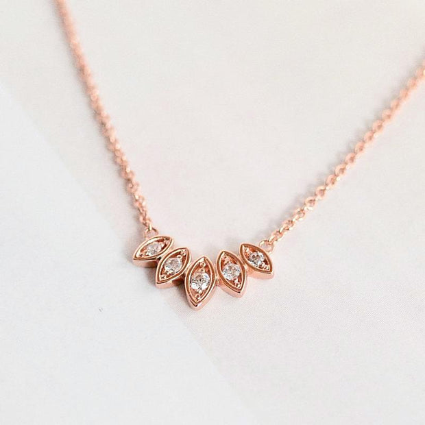 Collier Louana - Plaqué Or Rose 18K