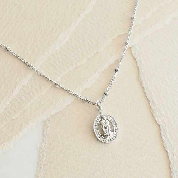 Collier Madone - Argent
