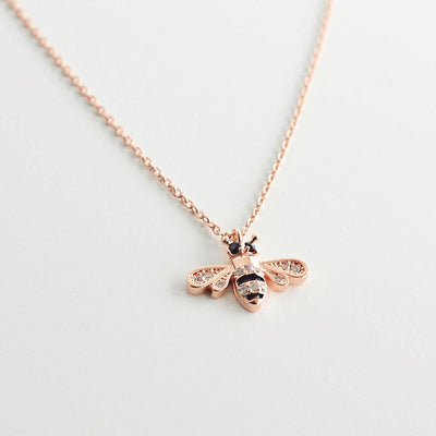 Collier Maya - Or Rose