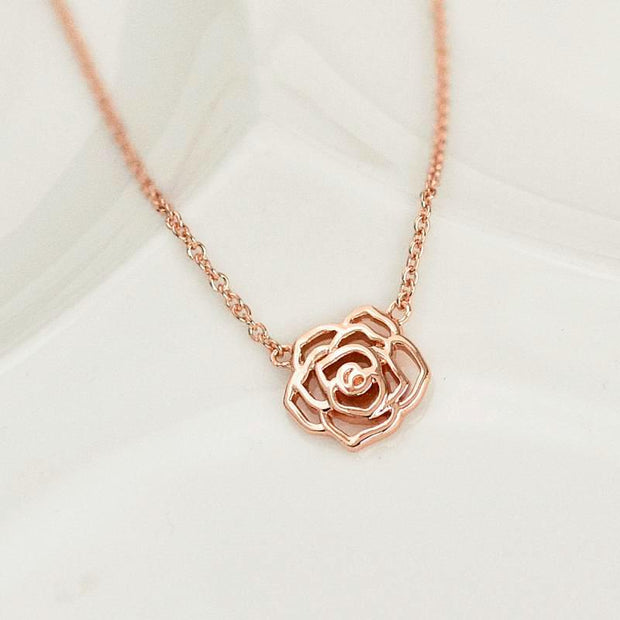 Collier Naelia - Plaqué Or Rose 18K