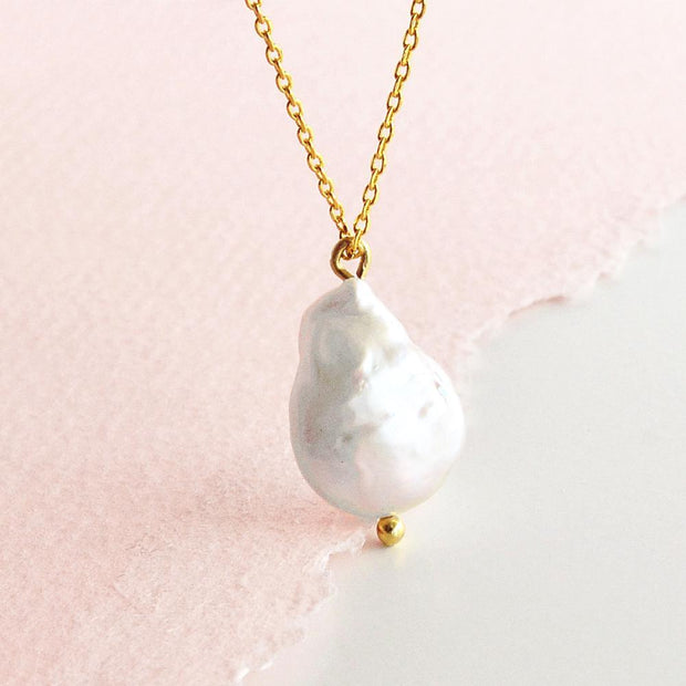 Collier Pearl - Or - Majolie