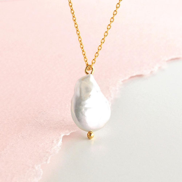 Collier Pearl - Or