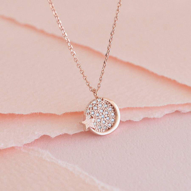 Collier Solah - Or Rose