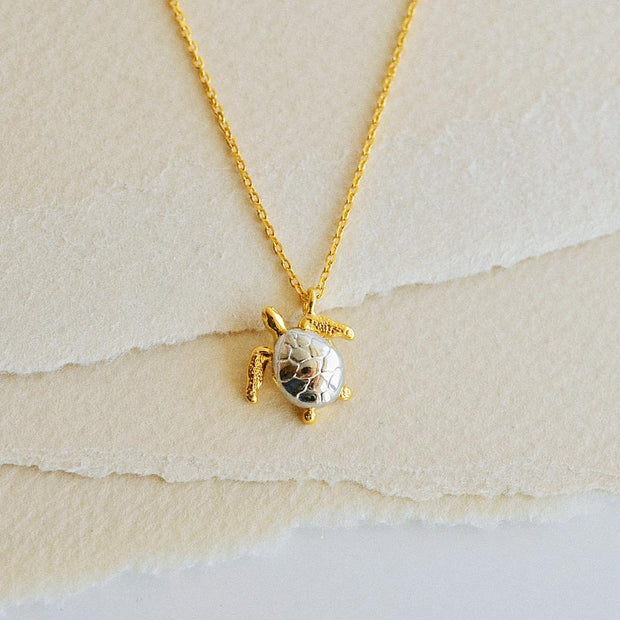 Collier Tortue - Or - Majolie