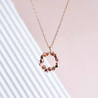 Collier Milo - Or Rose