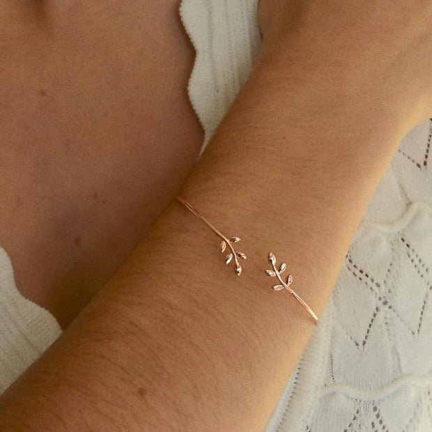 Bracelet Epi - Or Rose