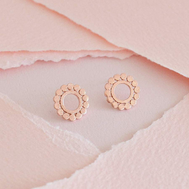 Boucles Maia - Or Rose