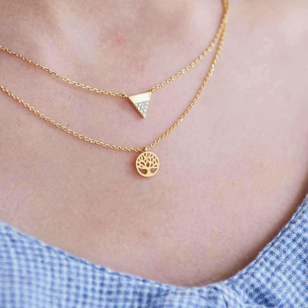 Arbre de Vie Gold Necklace