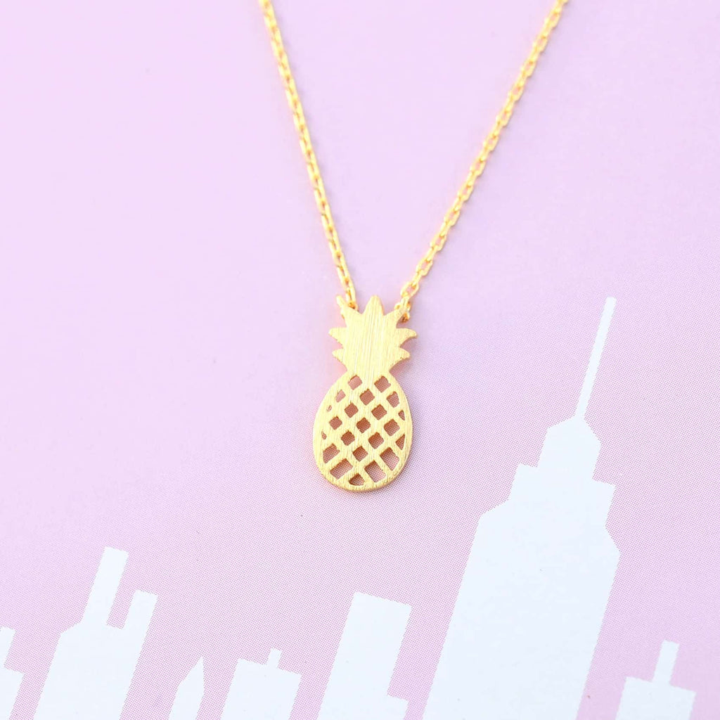 Pineapple Gold Necklace