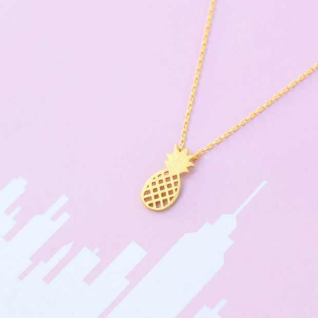 Collier Pineapple - Or