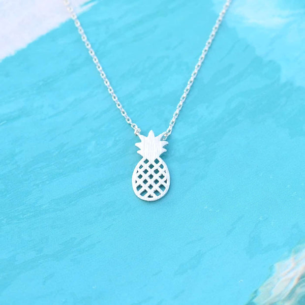 Collier Pineapple - Argent