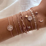 Bracelet Galya - Or Rose