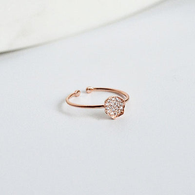 Bague Roma - Or Rose