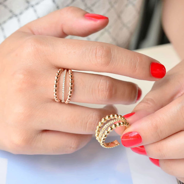 Alila Rose Gold Ring - Majolie