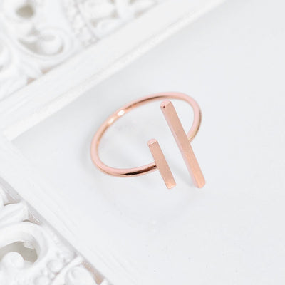 Bague Ana - Or Rose