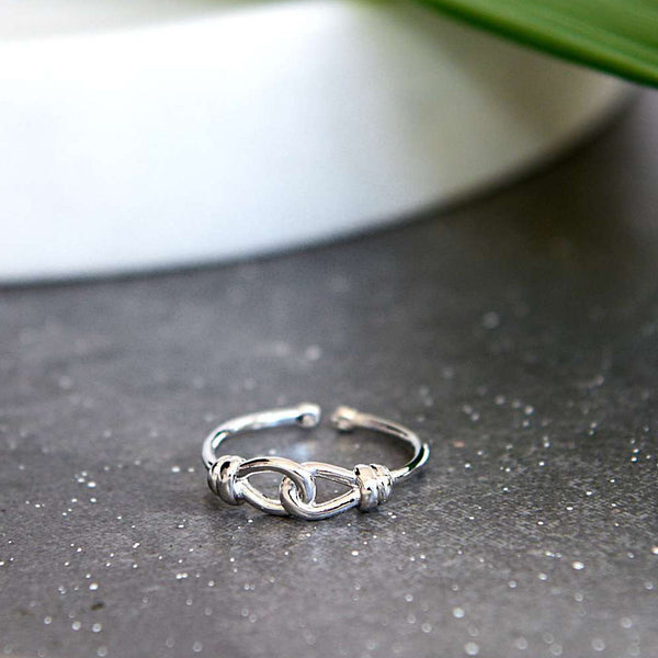 Chance Silver Ring