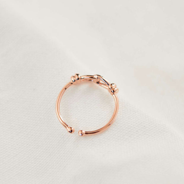 Bague Chance - Or Rose - Bijoux Majolie