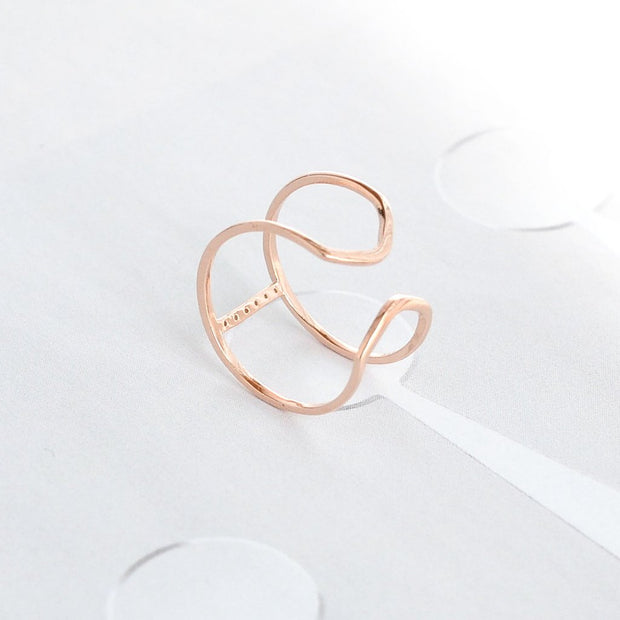 Bague Dona - Argent 925 - Or Rose