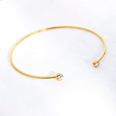 Bangle Lana - Plaqué Or 18K - Bijoux Majolie