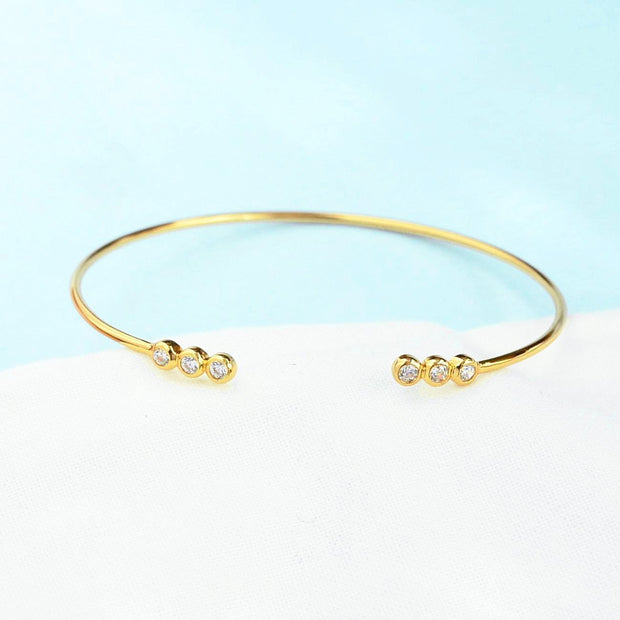 Bangle Mignon - Plaqué Or 18K
