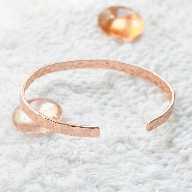 Bangle Madame Râleuse - Plaqué Or Rose 18K - Bijoux Majolie
