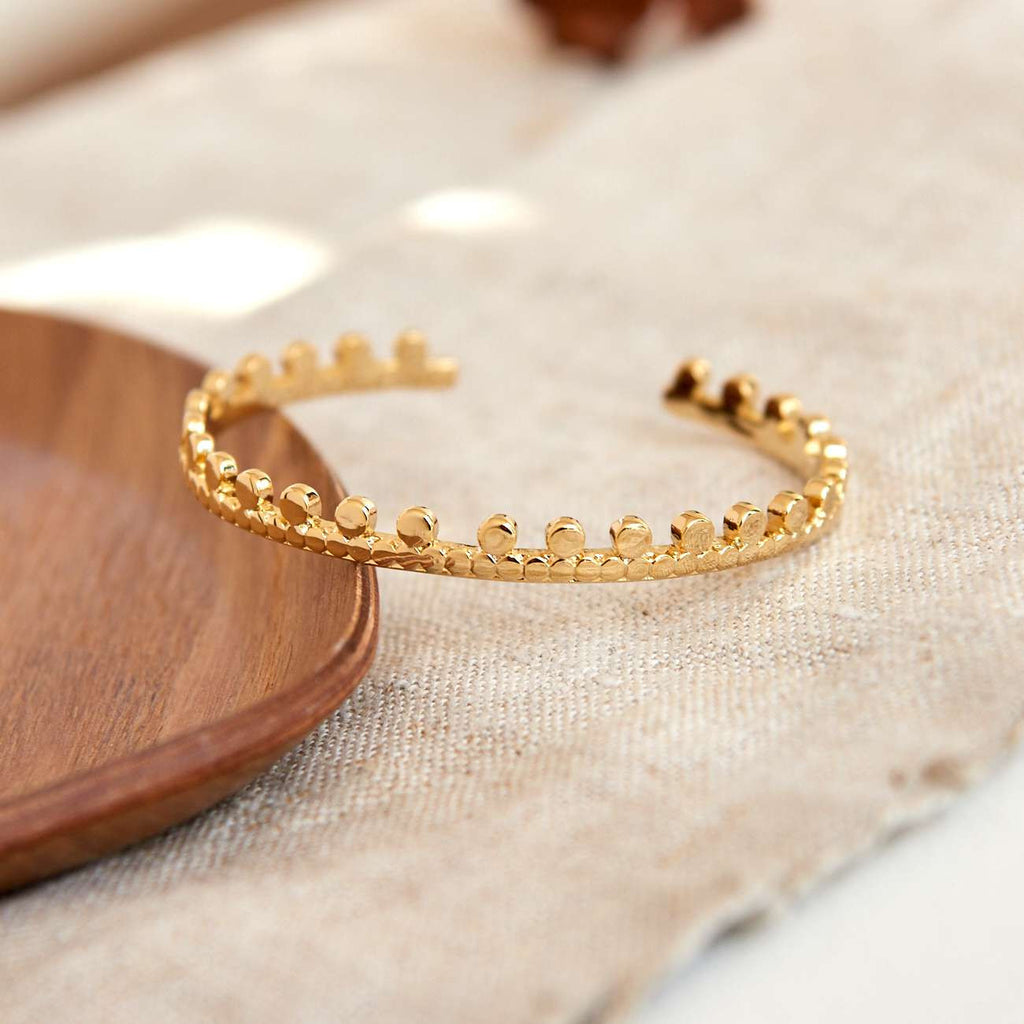 Bracelet Couronne - Or