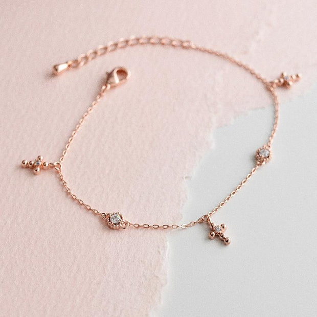 Bracelet Maata - Or Rose