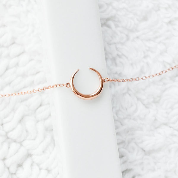 Bracelet Moon - Plaqué Or Rose 18K