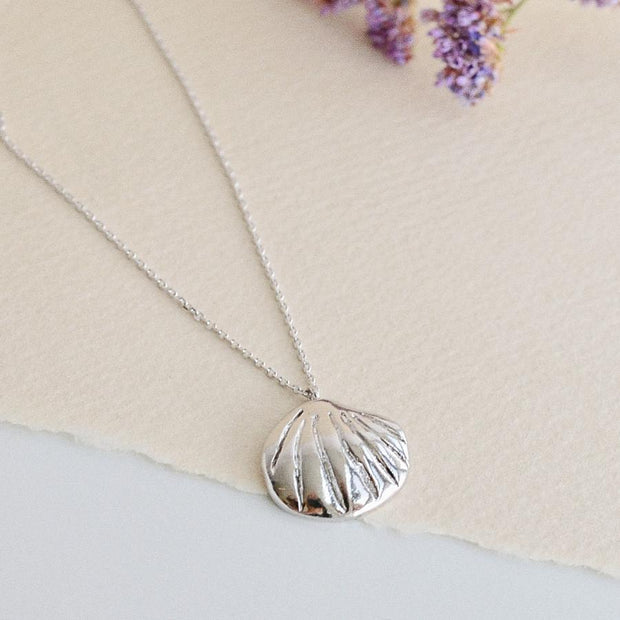 Collier Coquillage - Argent - Majolie