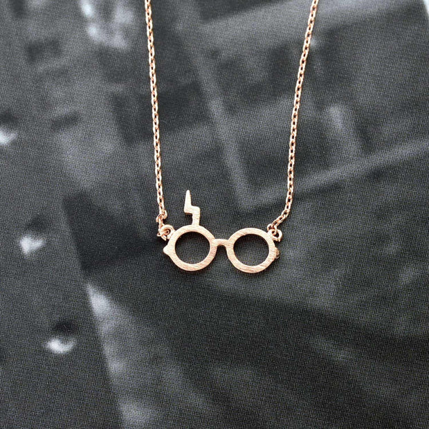 Collier Harry Potter - Or Rose