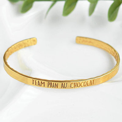 Bangle Team Pain Au Chocolat - Plaqué Or 18K - Bijoux Majolie