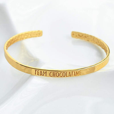Bangle Chocolatine - Plaqué Or 18K