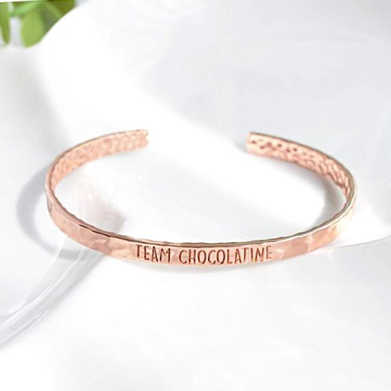 Bangle Chocolatine - Plaqué Or Rose 18K - Bijoux Majolie