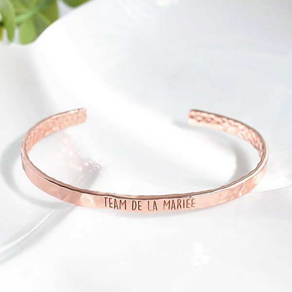 Bangle Team De La Mariée - Plaqué Or Rose 18K