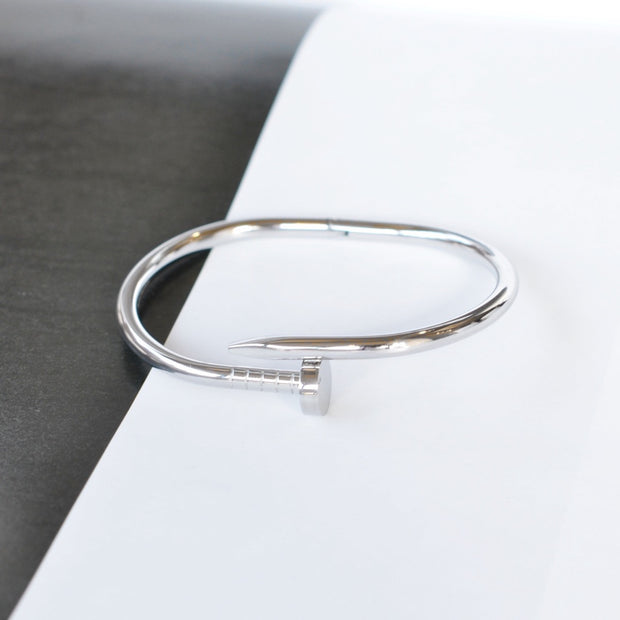 Bangle Clou - Argent - Bijoux Majolie