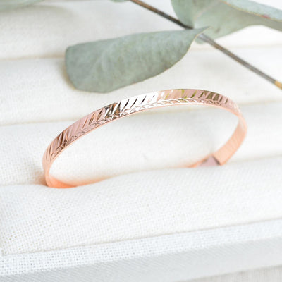 Bracelet Linea - Or Rose