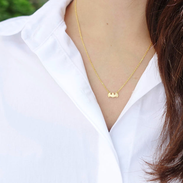 Batman Gold Necklace - Majolie