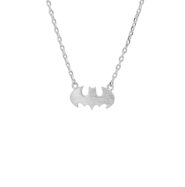 Batman Silver Necklace - Majolie
