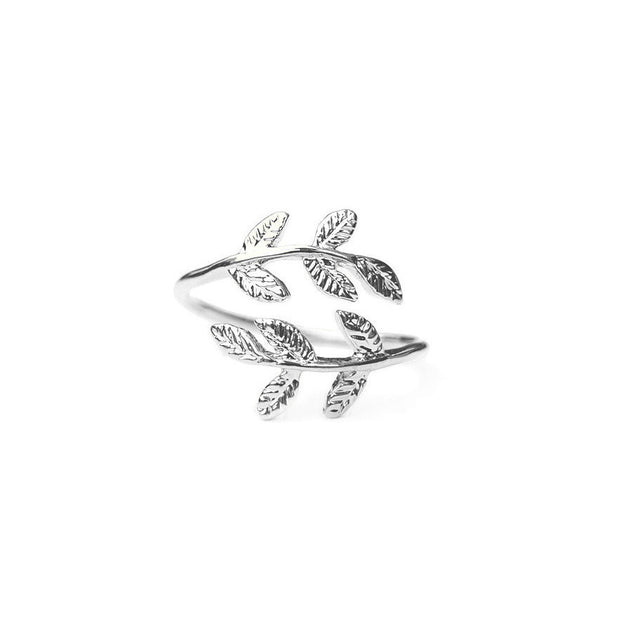 Majolie  - Laurier Ring Silver -   - 2