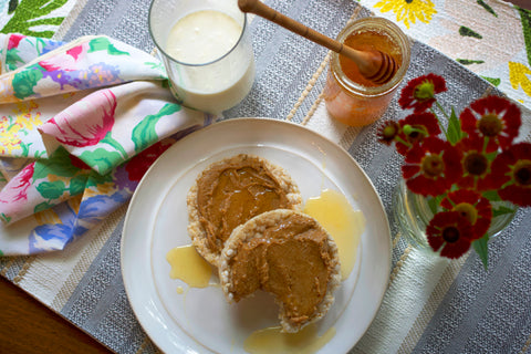 Almond Butter with Alfalfa Honey