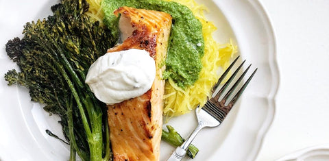 Ghost Pepper Honey Salmon