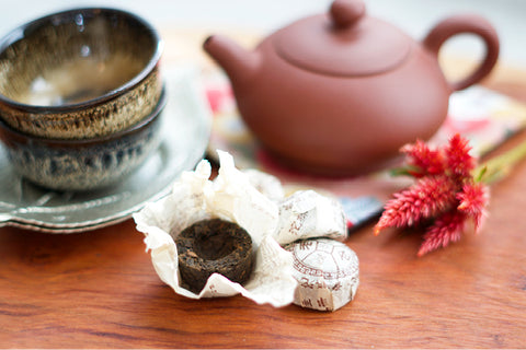 Pu Er and Yixing Teapot