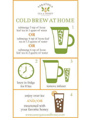 Cold Brew Iced Tea at Home